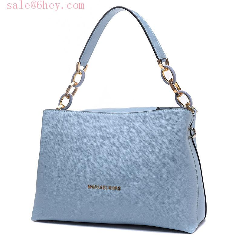 michael kors selma pale blue
